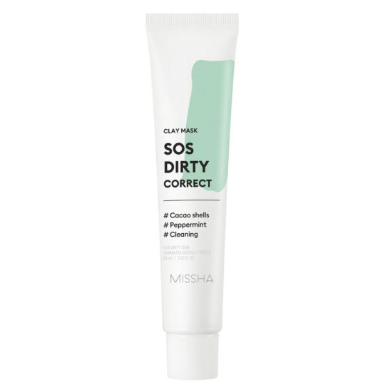 Missha SOS Dirty Correct Clay mask