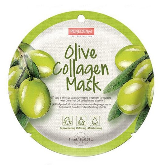 Purederm Olive Collagen Mask