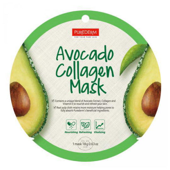 Purederm Avocado Collagen Mask