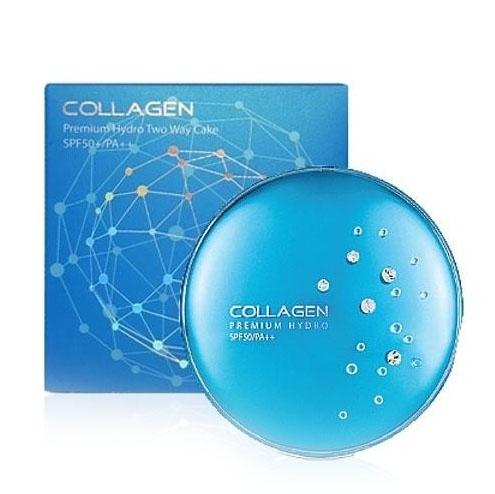 Увлажняющая пудра с коллагеном Enough Collagen Premium Hydro Two Way Cake