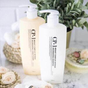 Безсульфатный протеиновый шампунь Esthetic House CP-1 Bright Complex Intense Nourishing Shampoo