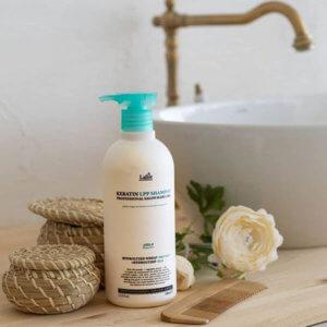 Кератиновый безсульфатный шампунь Lador Keratin LPP Shampoo