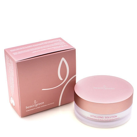 BeauuGreen Pomegranate & Ruby Hydrogel Eye Patch Big Size
