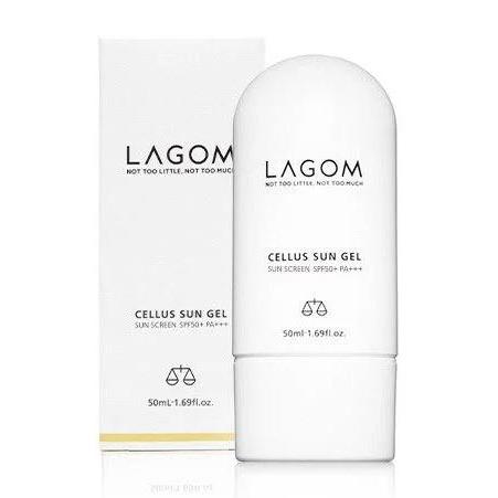 Легкий солнцезащитный крем-гель Lagom Cellus Sun Gel