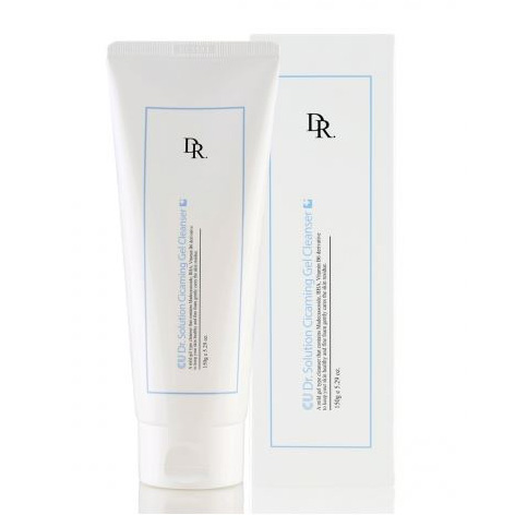 Очищающий гель для лица с центеллой и салициловой кислотой CU Dr. Solution Cicaming Gel Cleanser