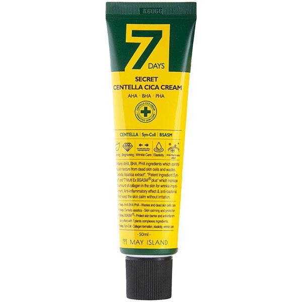 Крем для проблемной кожи May Island 7 Days Secret Centella Cica Cream