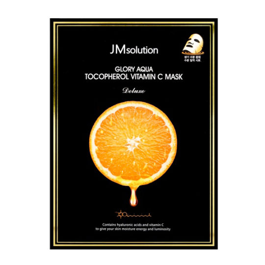 JMsolution Glory Aqua Tocopherol Vitamin C Mask Deluxe