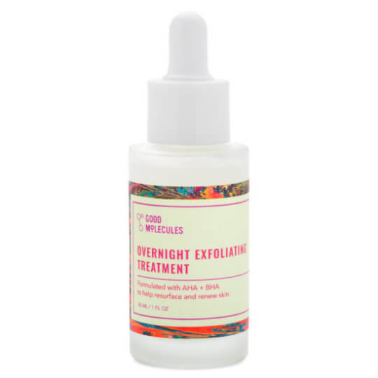 Ночная сыворотка-пилинг с кислотами Good Molecules Overnight Exfoliating Treatment