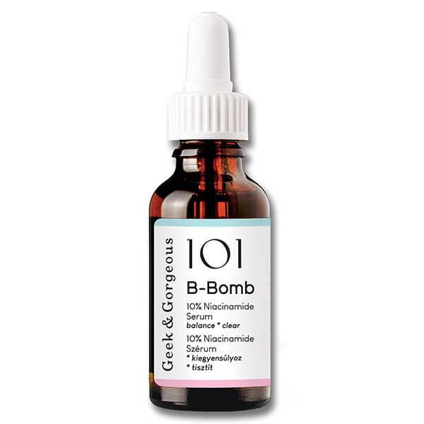 Сыворотка с ниацинамидом 10% Geek & Gorgeous 101 B-Bomb 10% Niacinamide Serum