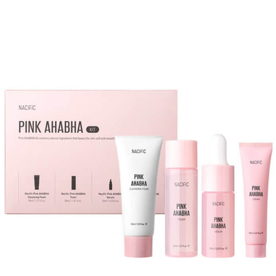 Nacific Pink AHA BHA Kit