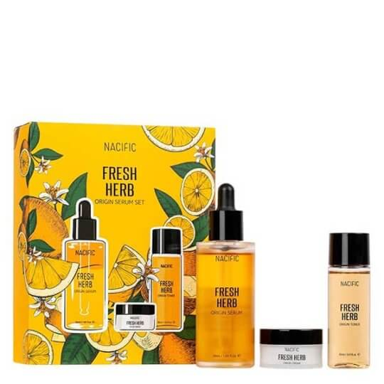 Nacific Fresh Herb Origin Serum Set