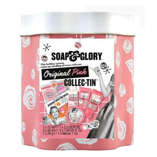 Soap & Glory Original Pink Collec-Tin Christmas Gift Set