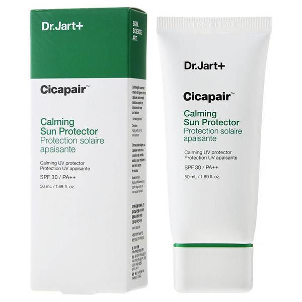 Успокаивающий солнцезащитный крем для лица Dr. Jart+ Cicapair Calming Sun Protector SPF30
