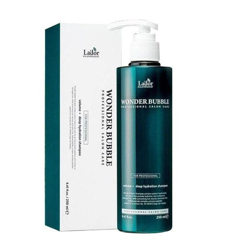 Шампунь для увлажнения и объема волос Lador Wonder Bubble Shampoo