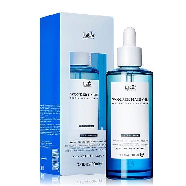 Масло для блеска и гладкости волос Lador Wonder Hair Oil