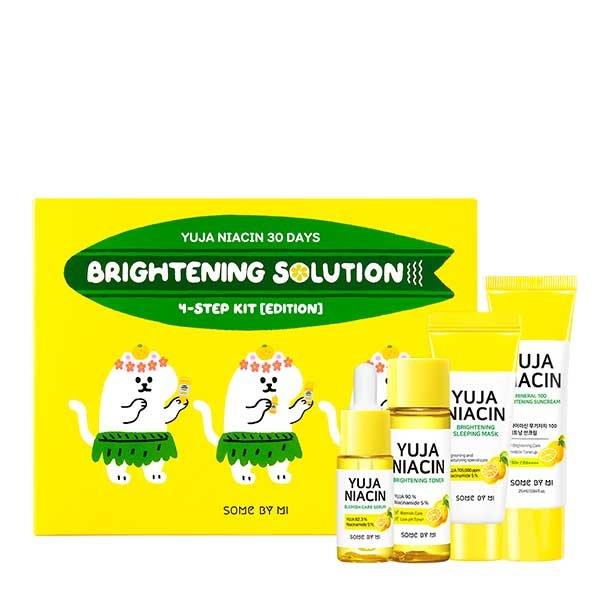 Набор косметики с экстрактом юдзу Some by Mi Yuja Niacin 30 Days Brightening Solution
