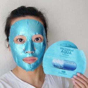 Интенсивно увлажняющая фольгированная маска для лица Banobagi Vita Cocktail Foil Mask Aqua