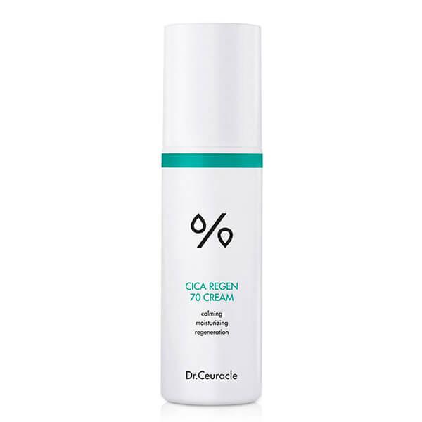 Крем для чувствительной кожи с центеллой Dr. Ceuracle Сica Regen 70 Cream
