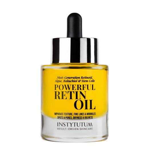 Насыщенное масло для лица с ретинолом и бакучиолом Instytutum Powerful Retin-Oil