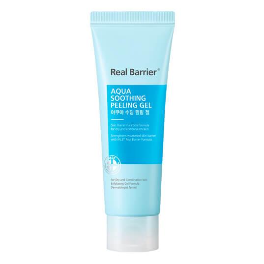Мягкий пилинг для чувствительной кожи Real Barrier Aqua Soothing Peeling Gel
