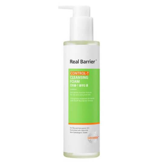 Очищающий гель для жирной кожи Real Barrier Control-T Cleansing Foam