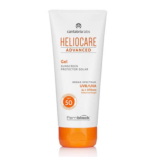 Солнцезащитный гель для комбинированной и жирной кожи Cantabria Labs Heliocare Advanced Gel SPF 50