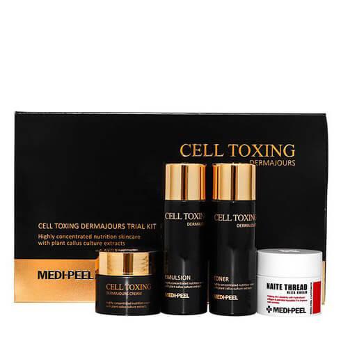 Набор миниатюр для зрелой кожи Medi-Peel Cell Toxing Dermajours Trial Kit