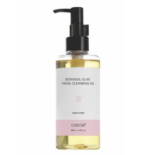 Очищающее масло для лица Coscodi 35˚ Botanical Olive Facial Cleansing Oil