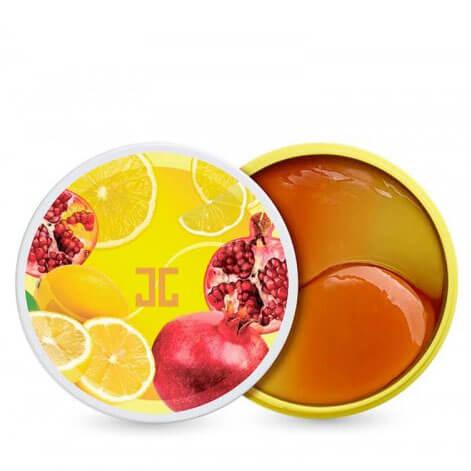 Тонизирующие патчи с лимоном и гранатом JayJun Pom Lemon Duo Eye Gel Patch