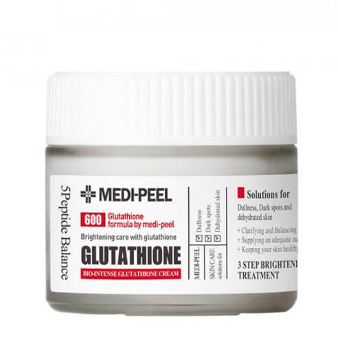 Осветляющий крем для лица с антиоксидантами Medi-Peel Bio Intense Glutathione White Cream