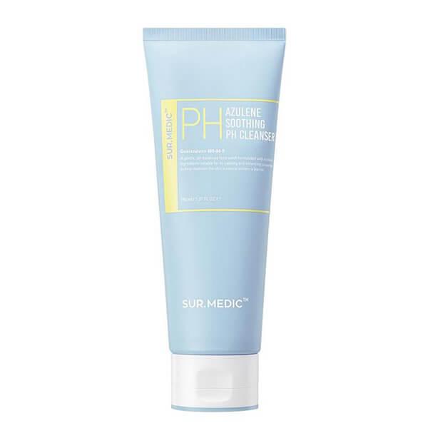 Очищающий гель с азуленом Neogen Sur.Medic Azulene Soothing Ph Cleanser