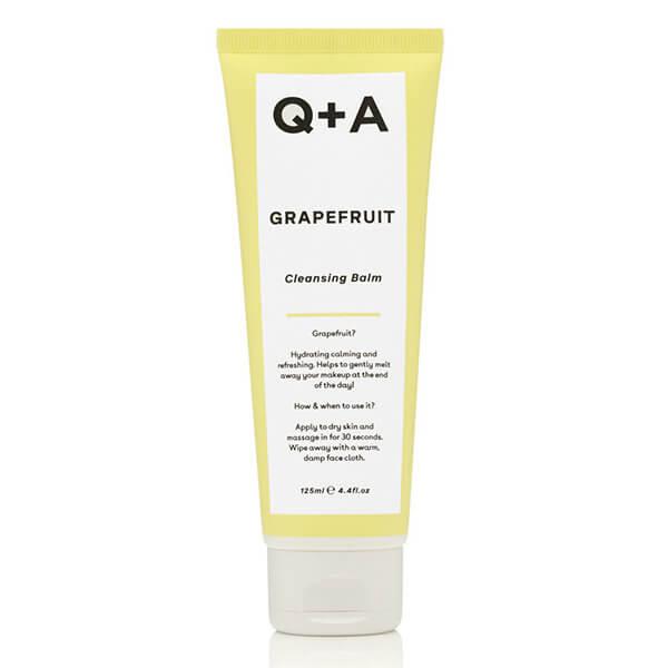Очищающий бальзам для снятия макияжа Q+A Grapefruit Cleansing Balm