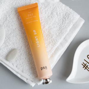 Маска для сияния кожи с витамином С PSA Light Up Vitamin C & E Flash Brightening Mask