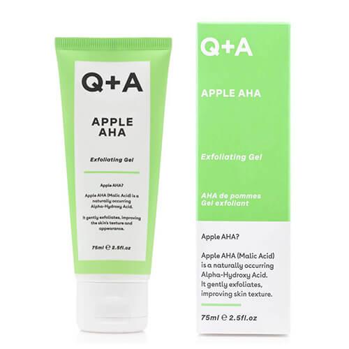 Пилинг-гель с фруктовыми кислотами Q+A Apple AHA Exfoliating Gel