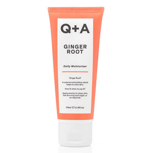 Легкий увлажняющий крем для лица с эстрактом имбиря Q+A Ginger Root Daily Moisturizer