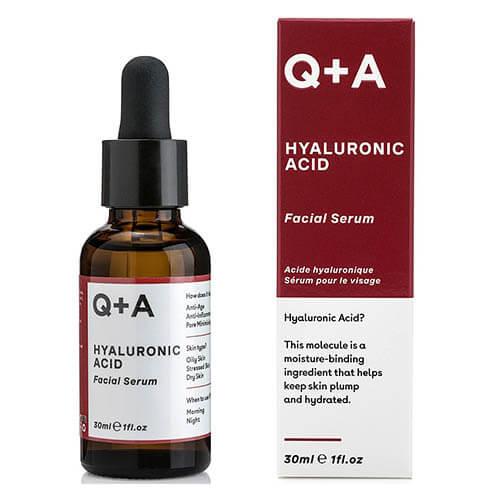 Сыворотка для лица с гиалуроновой кислотой Q+A Hyaluronic Acid Facial Serum