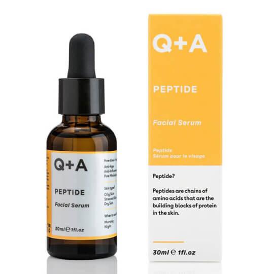 Пептидная лифтинг-сыворотка для лица Q+A Peptide Facial Serum