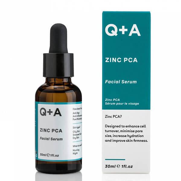 Сыворотка для лица с цинком и пробиотиками Q+A Zinc PCA