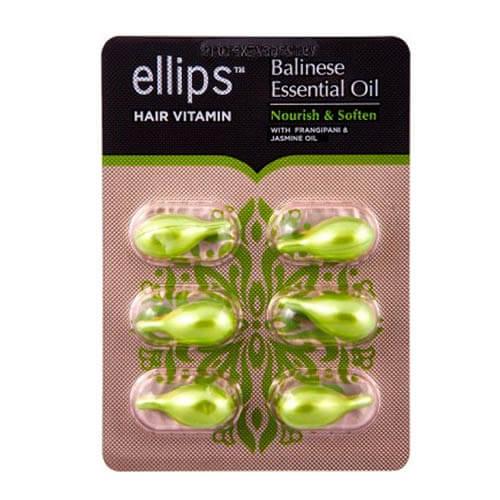 "Витамины для волос ""Питание и мягкость Бали"" Ellips Hair Vitamin Balinese Essential Oil Nourish & Soften"