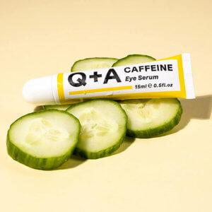 купить сыворотку для век с кофеином Q+A Caffeine Eye Serum