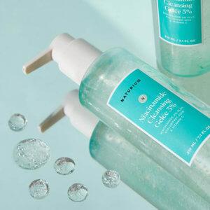 Очищающий гель с ниацинамидом и витамином С Naturium Niacinamide Cleansing Gelée