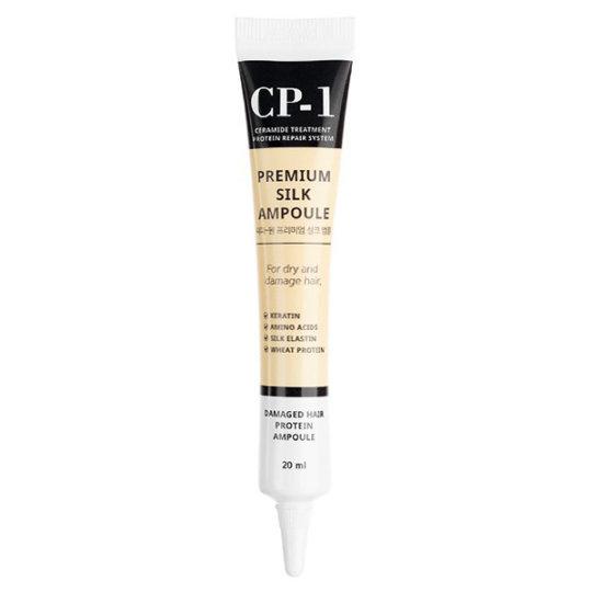 Несмываемая сыворотка для волос с протеинами CP-1 Premium Silk Ampoule