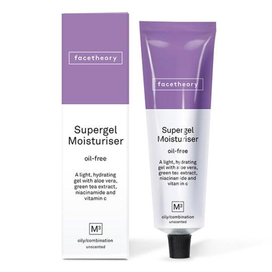 Безмасляный гель для жирной кожи Facetheory Supergel Oil-free Moisturiser M3