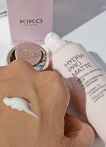 Увлажняющий матирующий флюид / база под макияж Kiko Milano Hydra Pro Matte