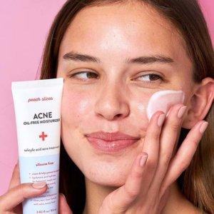 Увлажняющий безмасляный крем для лица Peach Slices Acne Oil-Free Moisturizer