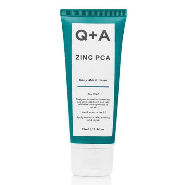 Увлажняющий крем с цинком и ниацинамидом Q+A Zinc PCA Daily Moisturiser
