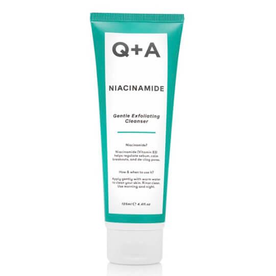 Отшелушивающий гель для умывания Q+A Niacinamide Gentle Exfoliating Cleanser