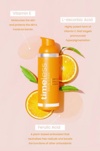 Сыворотка с витамином С 10% Timeless Skin Care 10% Vitamin C + E Ferulic Acid Serum