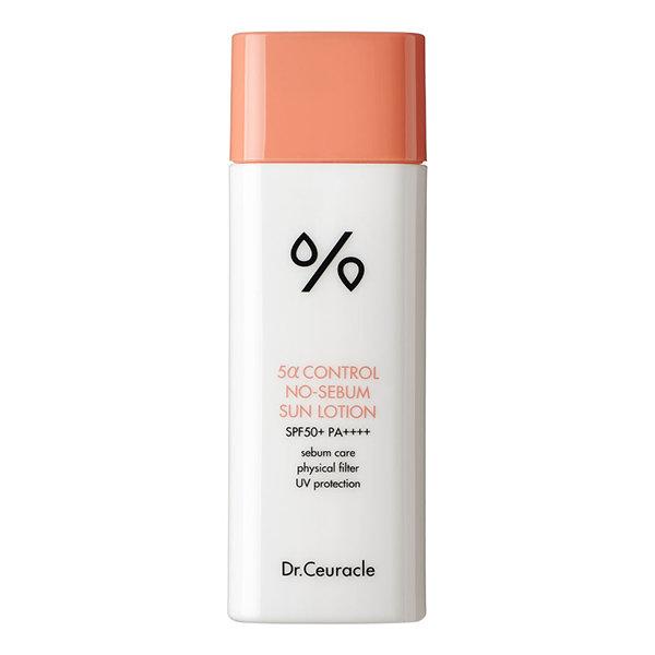 Санскрин для жирной и проблемной кожи Dr. Ceuracle 5α Control No Sebum Sun Lotion