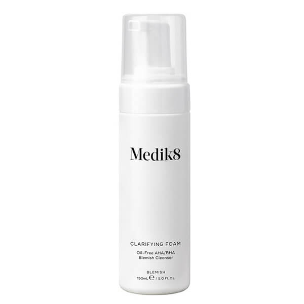 Очищающая пенка с кислотами для жирной, проблемной кожи Medik8 Clarifying Foam